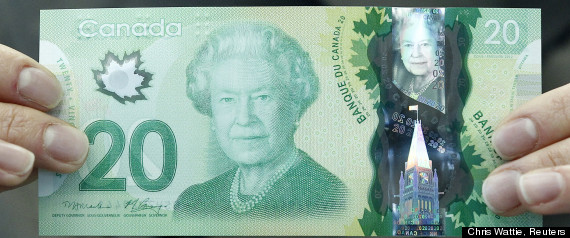 Canada Twenty Dollar Bill