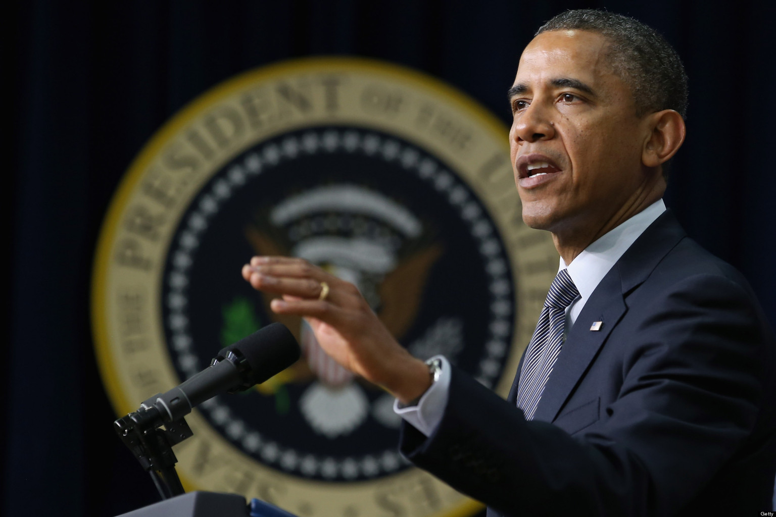 Obama calls for 'common-sense gun safety laws' after Florida school shooting