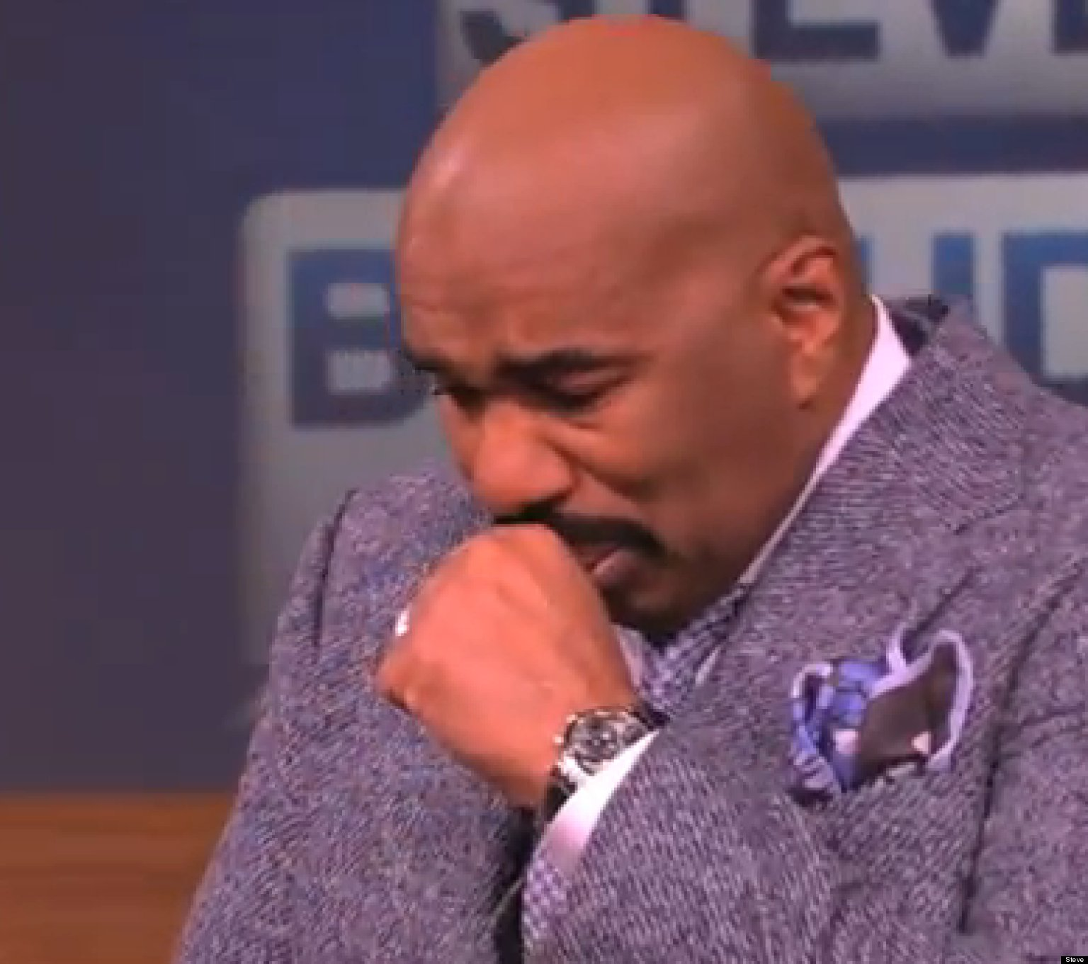 Steve Harvey Crying