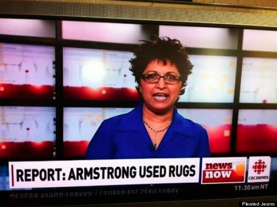 lance armstrong rugs