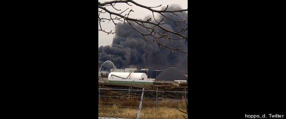 OSHAWA FIRE SMOKE