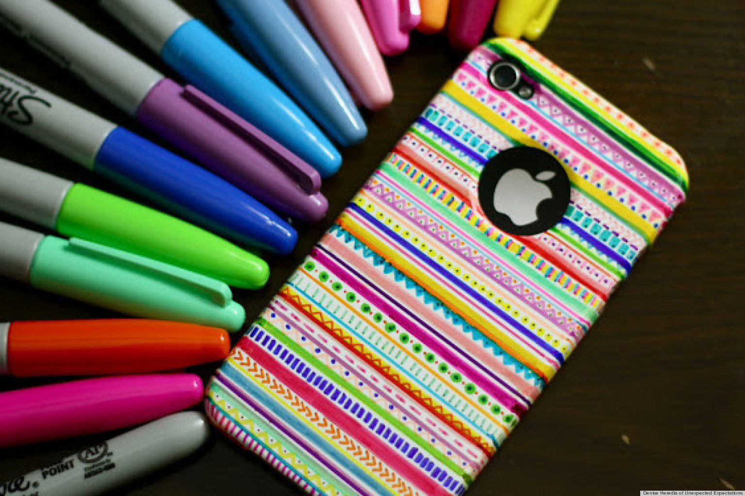 a diy iphone case that will brighten any cold winter 39 s day