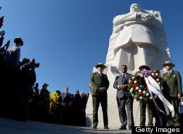 PHOTOS: MLK Honored By Activists, Celebrities And Leaders