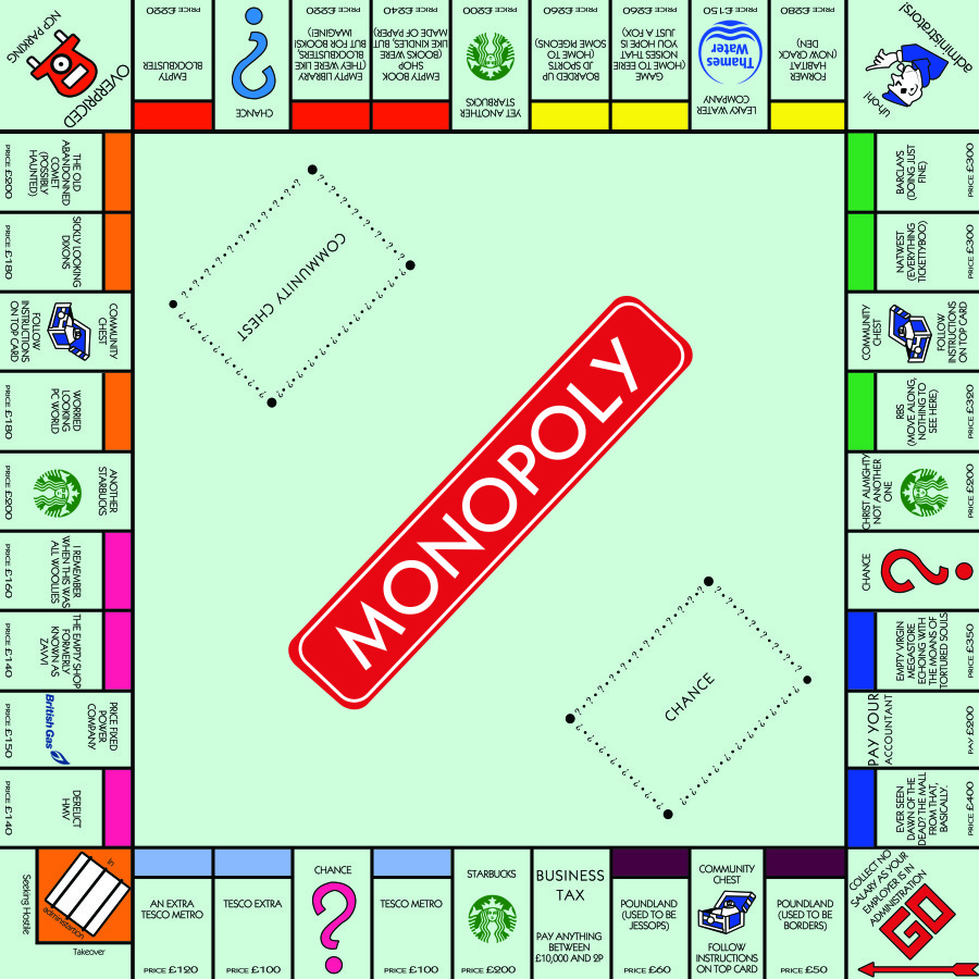Gallery For Gt Monopoly Board Community Chest