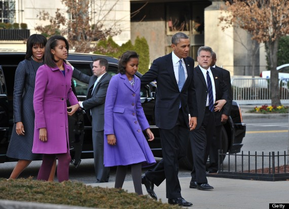 malia and sasha obama inauguration 2013