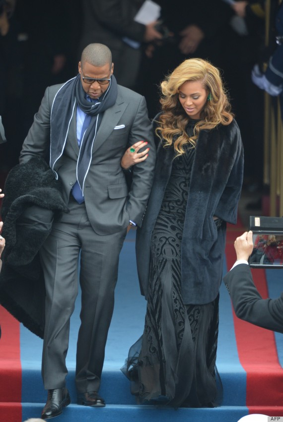 Beyonce's Inauguration Dress & Hair Take Our Breath Away (PHOTOS)