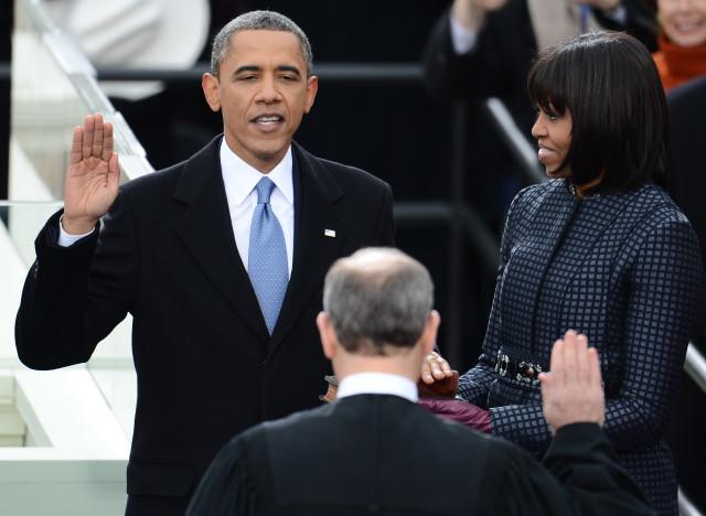 obama serment
