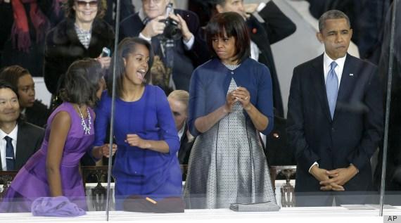 obama inauguration pda