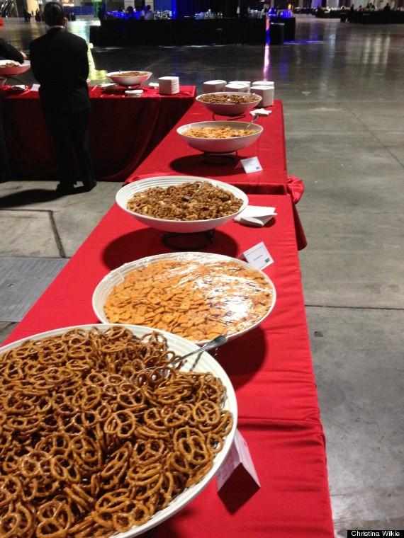 peanuts pretzels