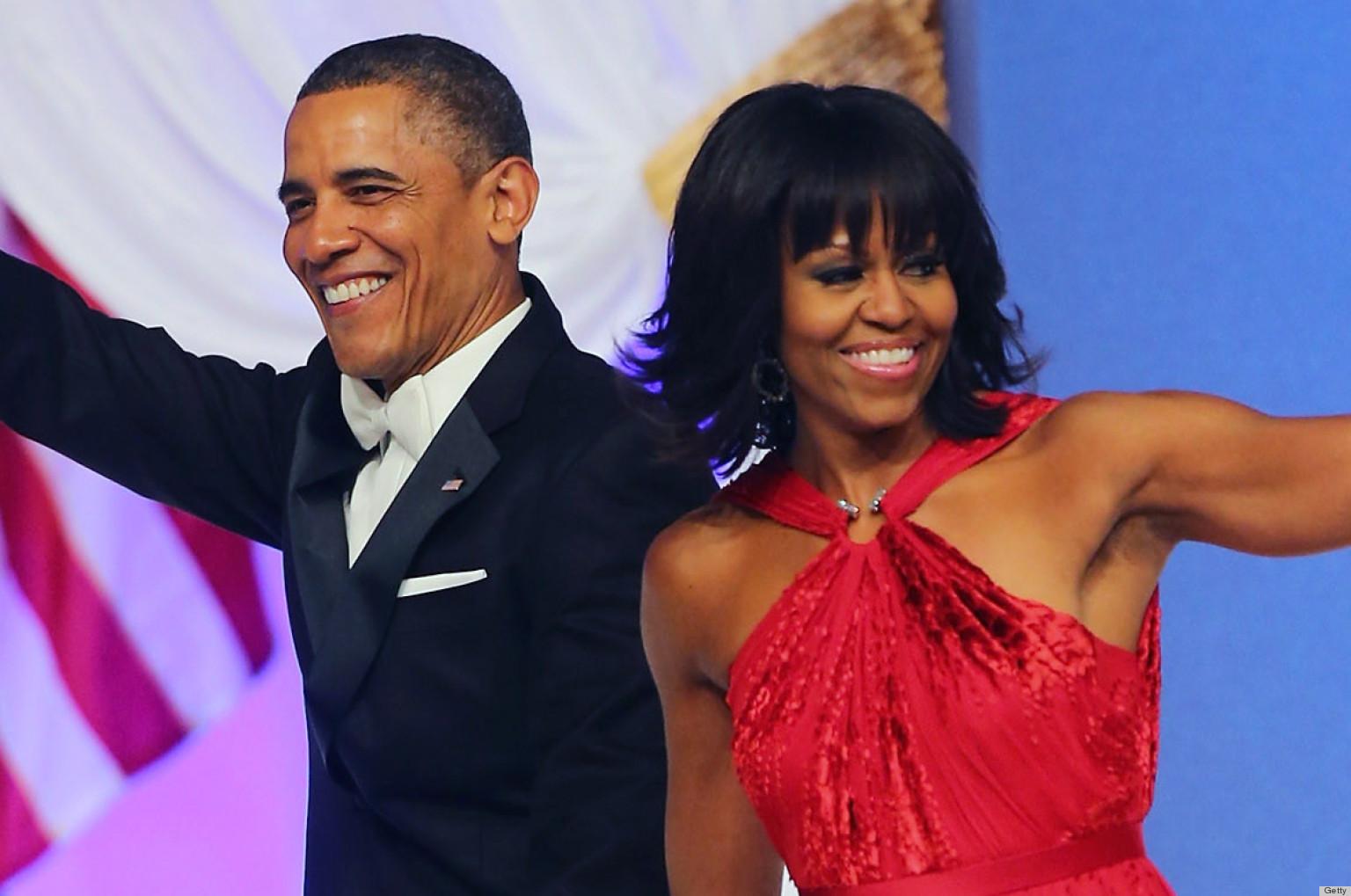 Michelle Obama Dress At The Inauguration Ball 2013: Jason Wu Red ...