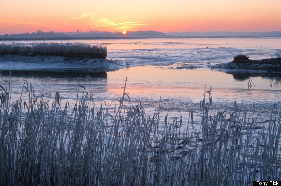 sunset over river alde on the suffolk coast_tony p