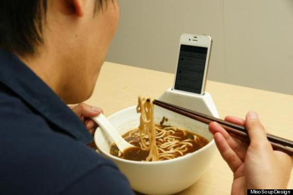 ramen bowl iphone