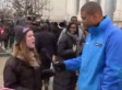 Inauguration Interview Fail: Chicago Woman 'Bored,' Couldn't Wave Flag & Pay Attention At Same Time (VIDEO)