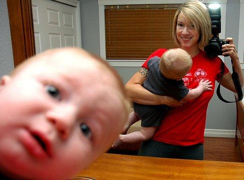 baby photobomb notforreuse