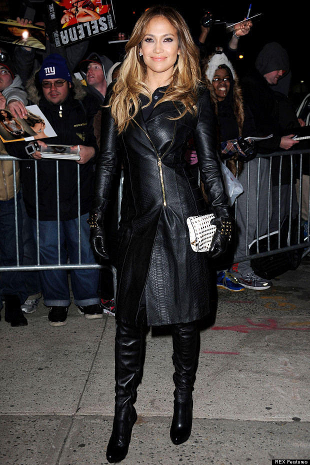 jlo leather