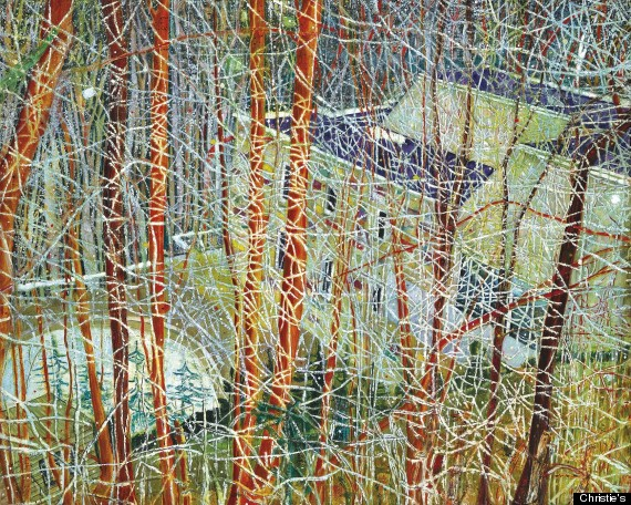 peter doig auction