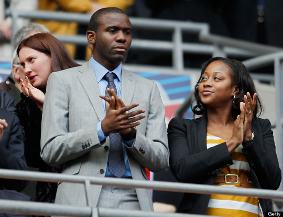 fabrice muamba and wife