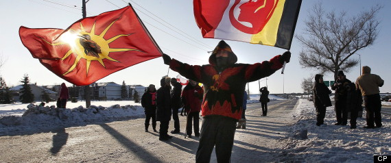 IDLE NO MORE BLOCKADE HIGHWAY