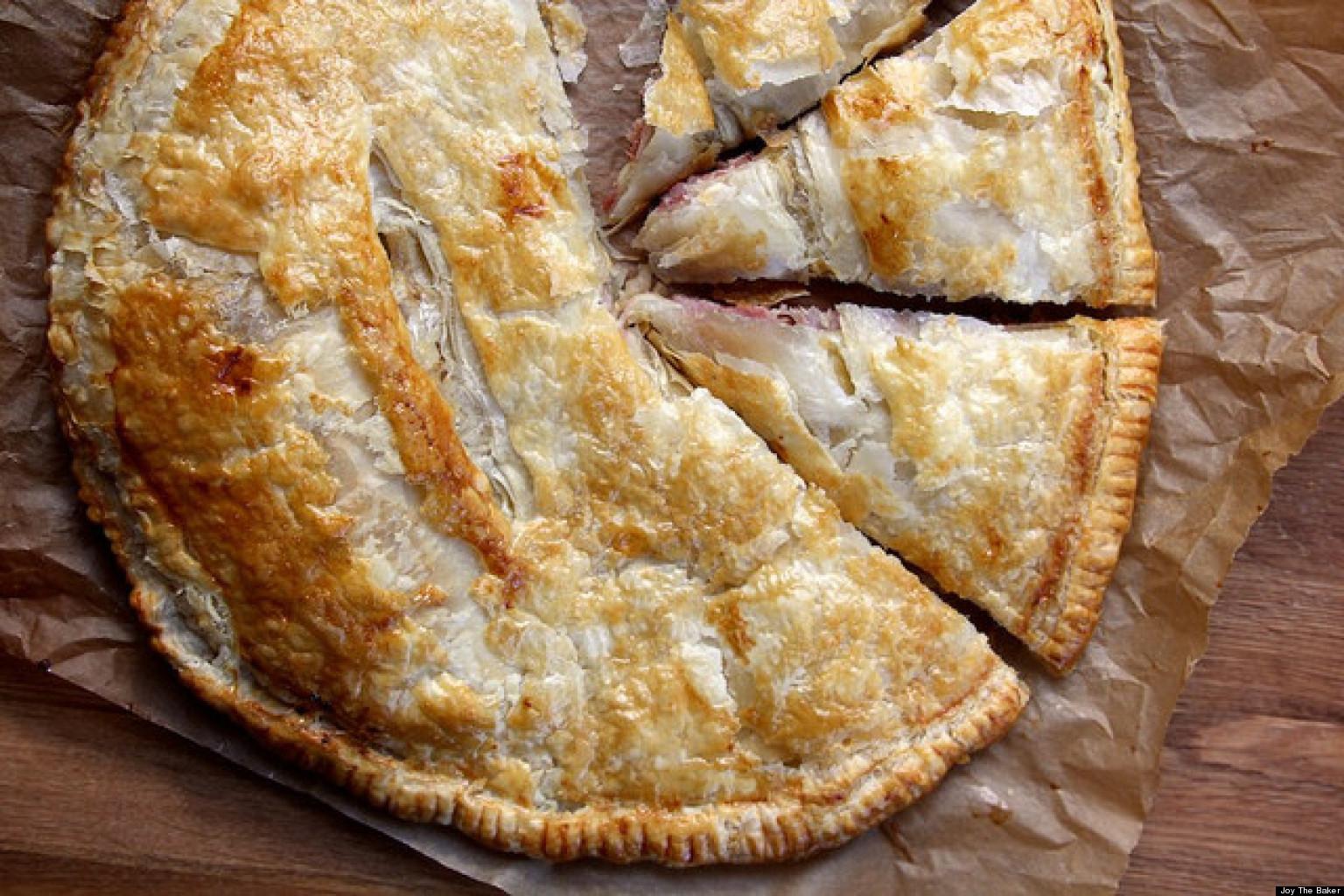 Как сделать края пирога тонкими