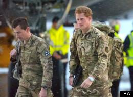 Killing Taliban 'A Job', Says Prince Harry