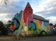 Graffiti Church: Artist Hense Gives Place Of Worship A Wildly Colorful Makeover (PHOTOS)