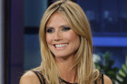 Heidi Klum's Sheer Dress On 'The Tonight...