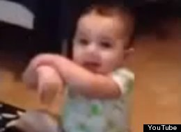 WATCH: 7-Month-Old Baby Does Gangnam Style
