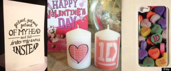 ONE DIRECTION VALENTINES DAY