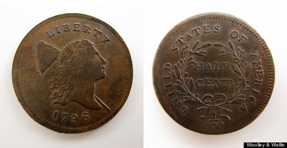 rare halfcent auction