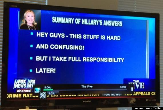 hillary clinton fox news