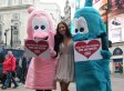 PETA Condom Demo Featuring Lacey Banghard Has People Scratching Their Heads (PHOTOS)