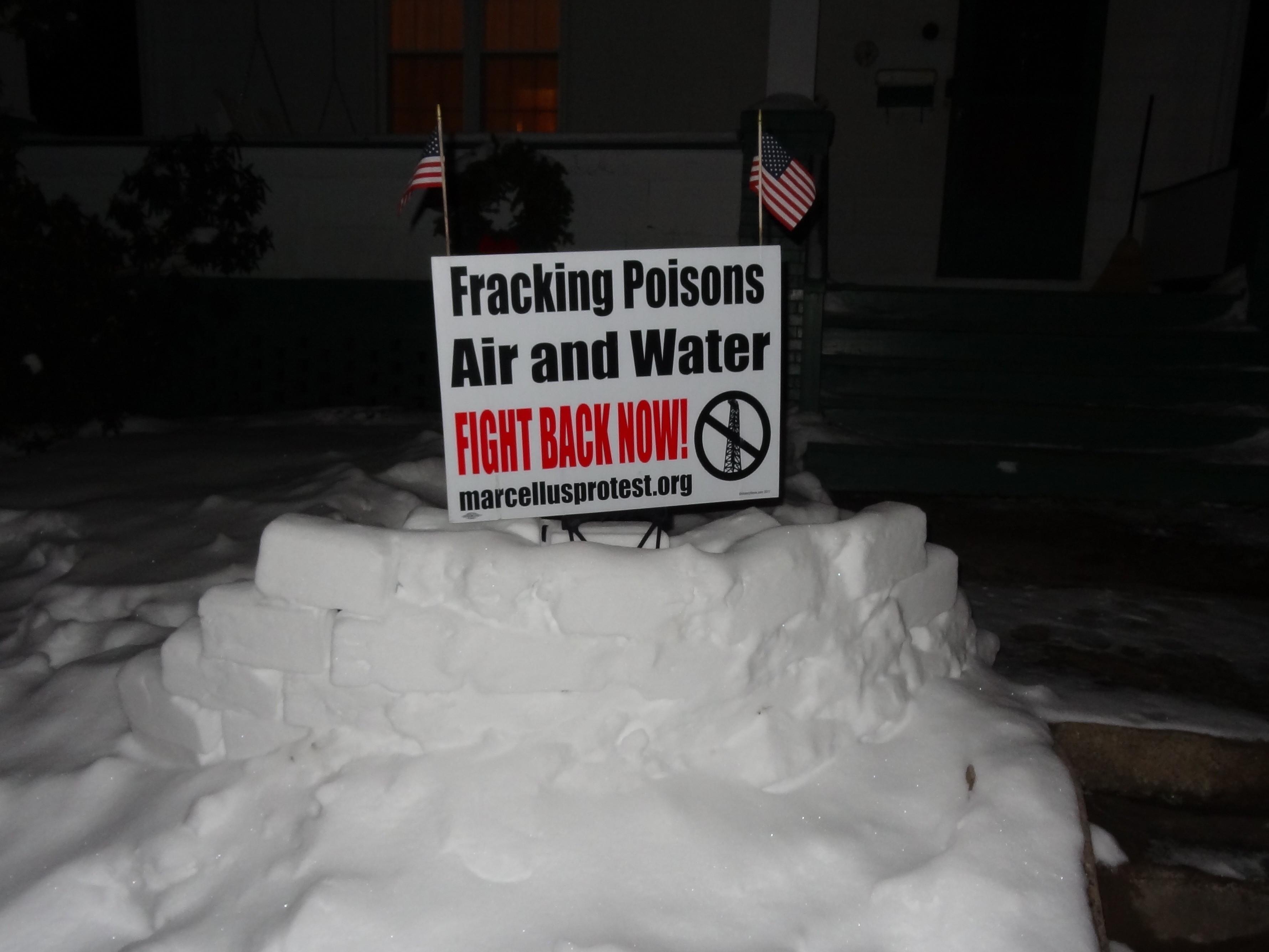fracking activism