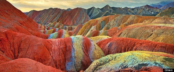 Montaas De Colores En China