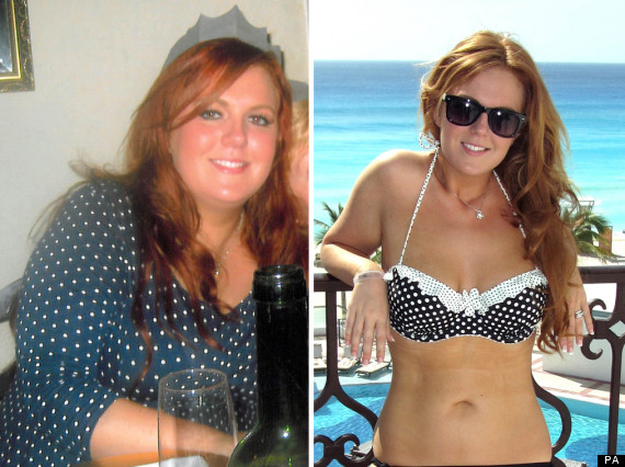 ... Sizes And Loses Nearly Half Body Weight For Wedding Day (PICTURES