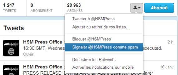 hsm spam