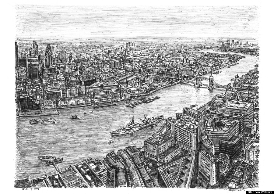 stephen wiltshire shard
