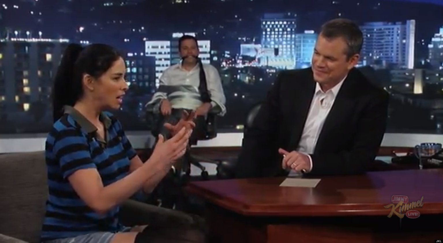 matt damon sarah silverman relationship 2015