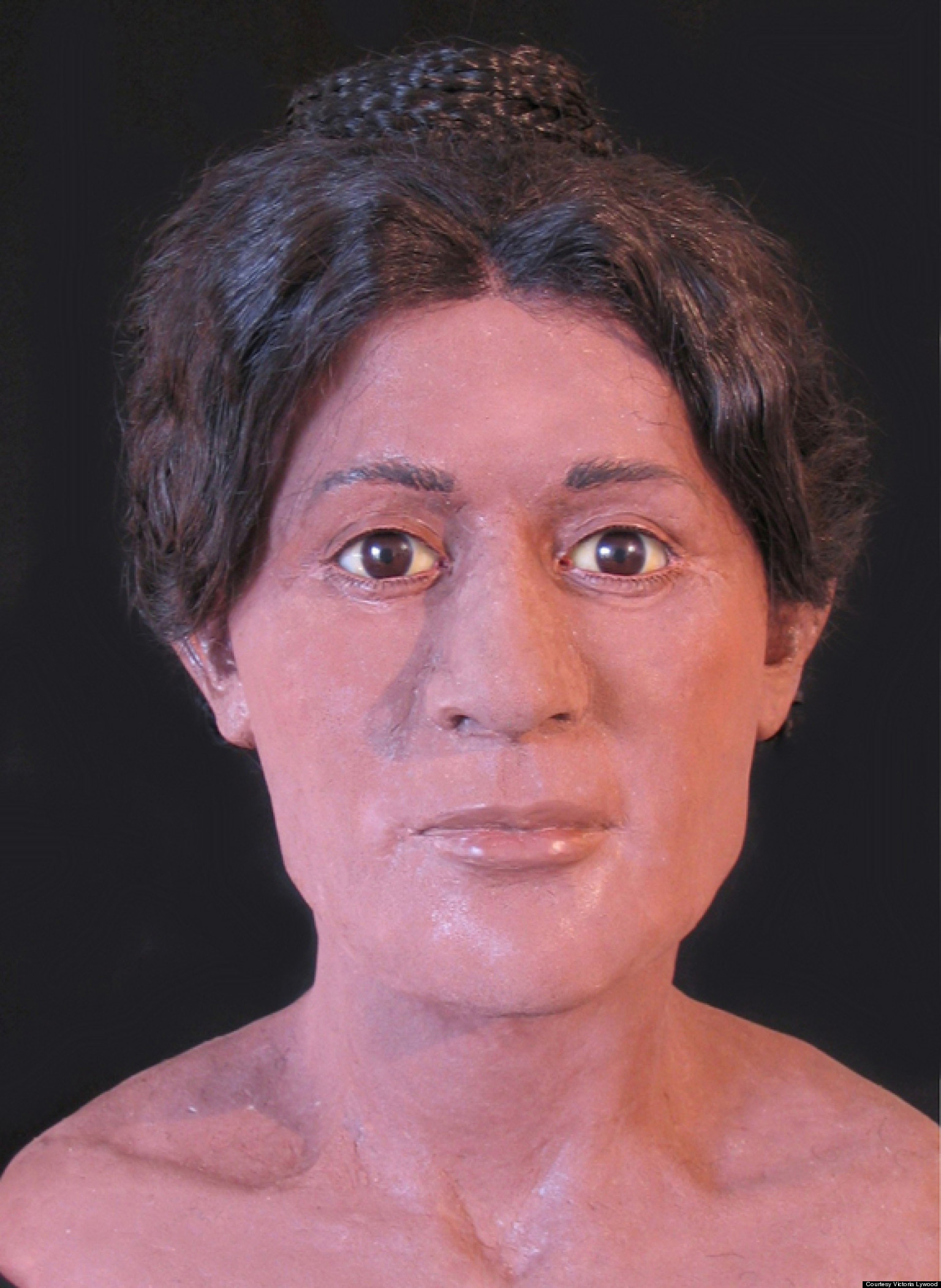 Hairstyle Of Death : Ancient Egyptian Mummys Elaborate Hairstyle Recreated In 3D