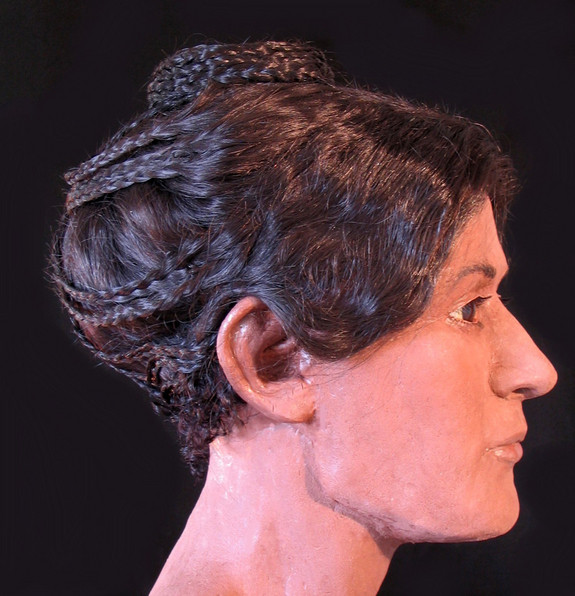 ... Forums: Ancient Egyptian Mummys Elaborate Hairstyle Recreated In 3D