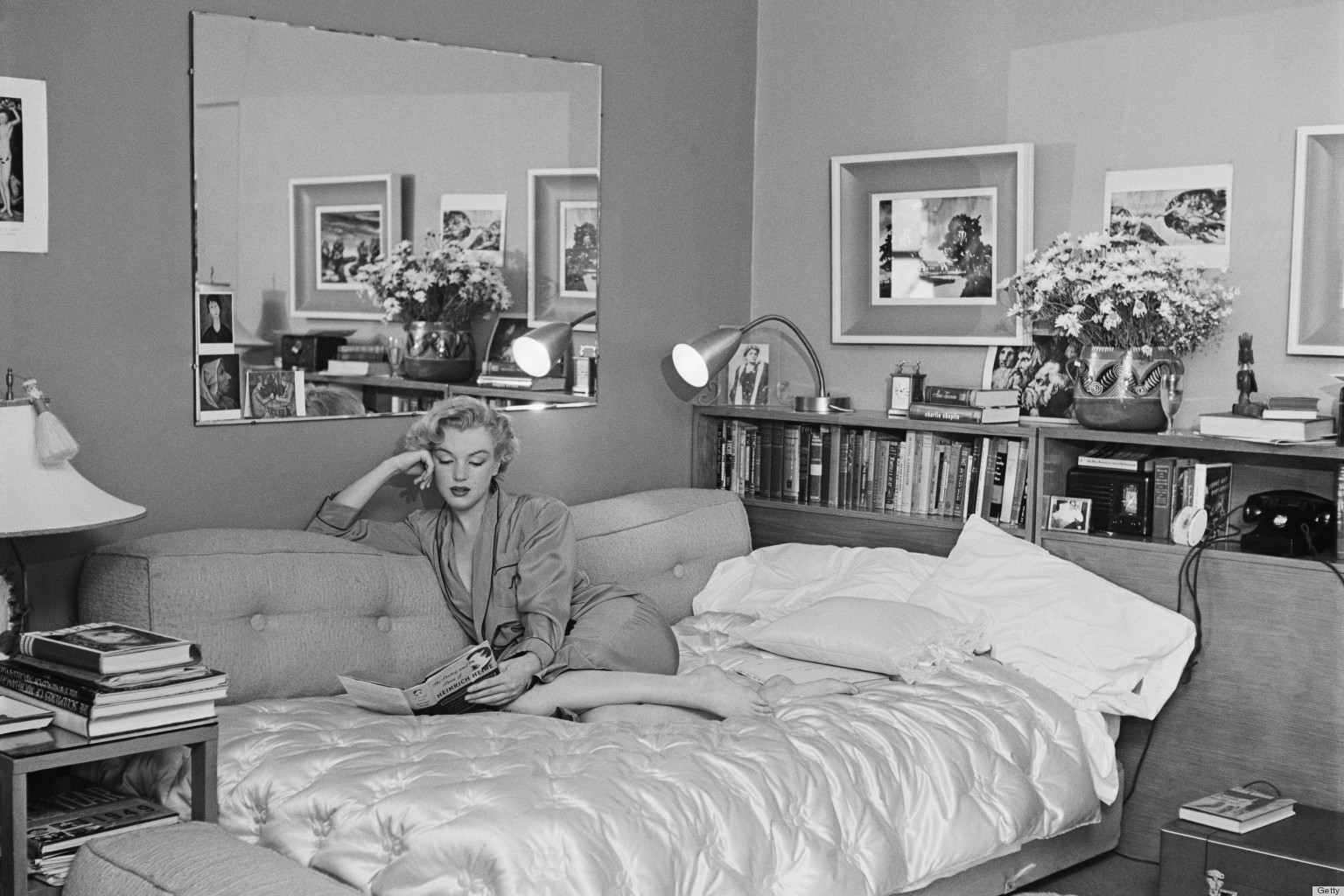 Crime Scene Photos Of Marilyn Monroe O-marilyn-monroe-bedroom- ...