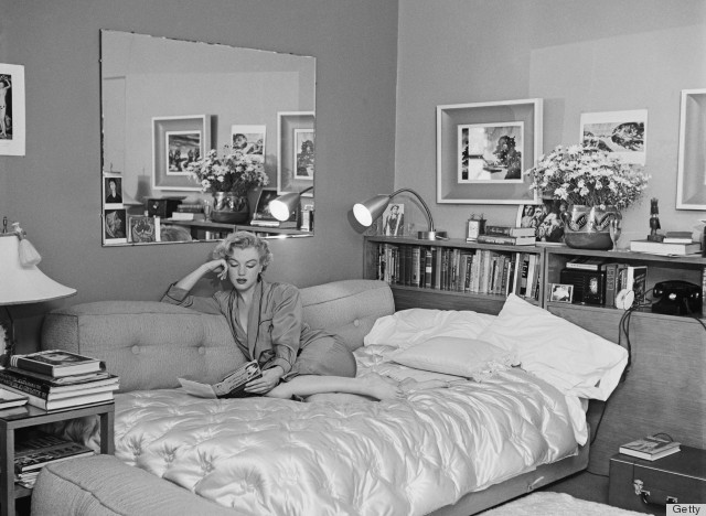 Victorian Reflections Bed And Breakfast Canisteo Ny : Marilyn monroe s bedroom inspires us to get cozy photos