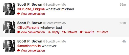 scott brown tweets