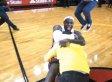 Heat Fan Sinks Half-Court Hook Shot To Win LeBron's $75,000 Contest (VIDEO)