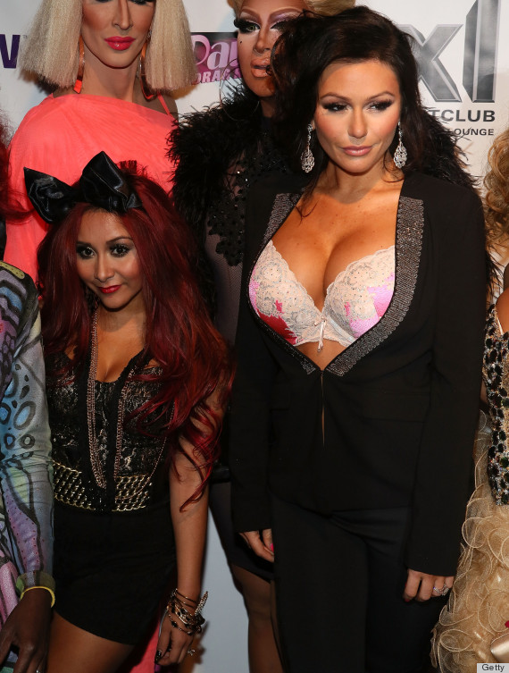 Snooki And JWoww Hit The Red Carpet For 'Ru Paul's Drag ...