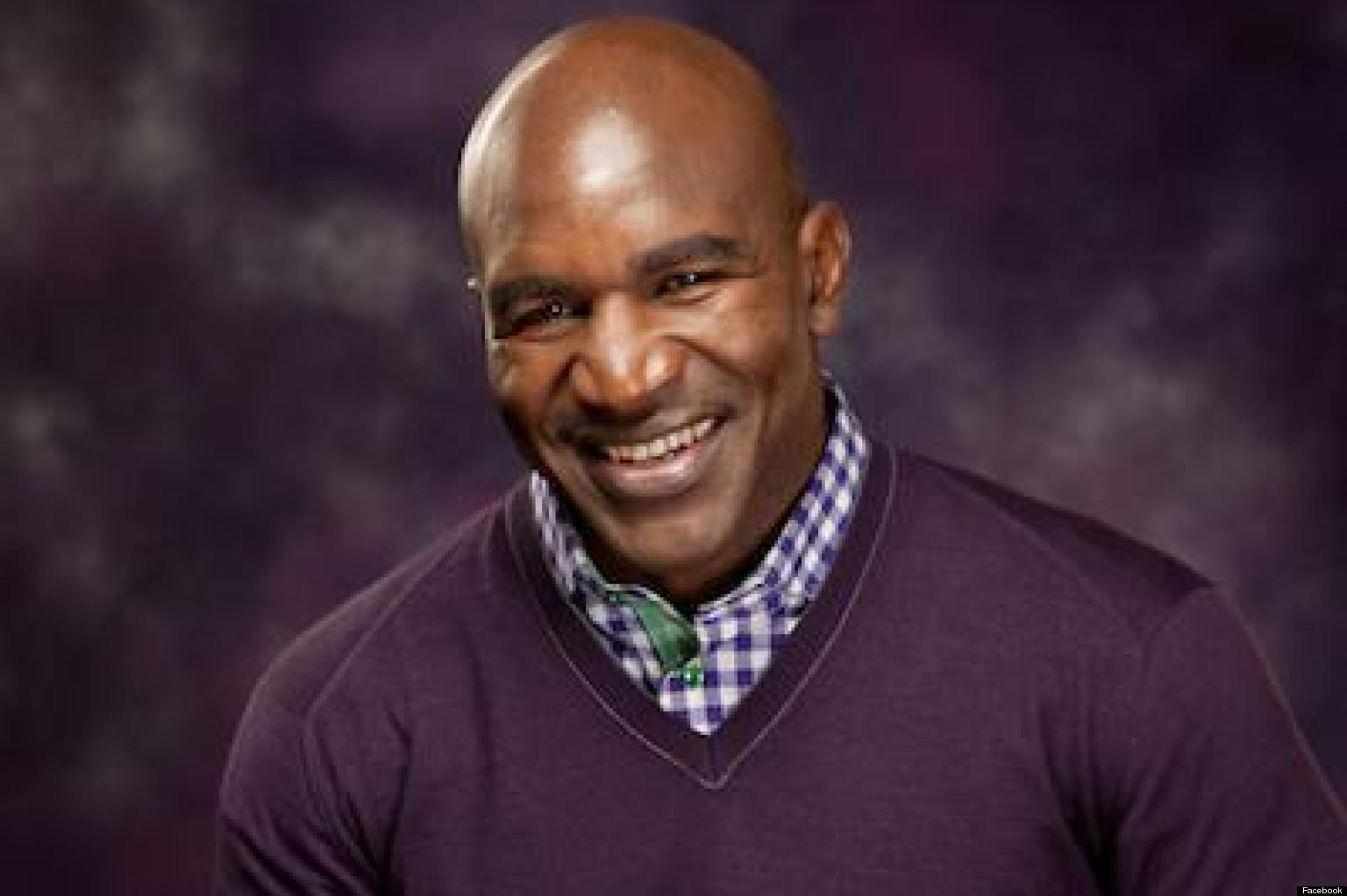 Evander Holyfield Throws Punches At Bullying In Vancouver