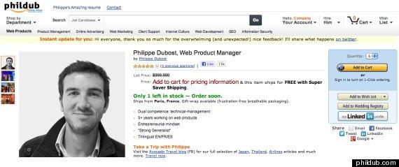 philippe dubost online resume