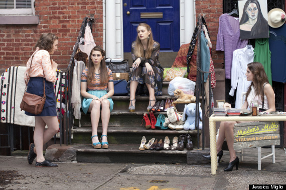 girls hbo stoop sale