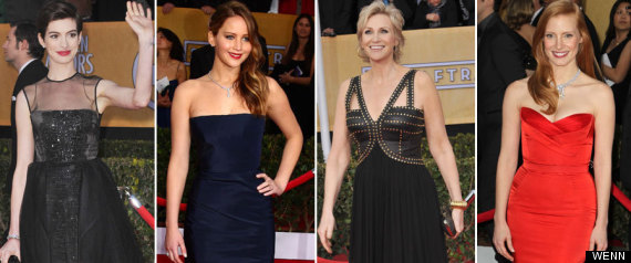 Sag Awards Best Worst Dressed