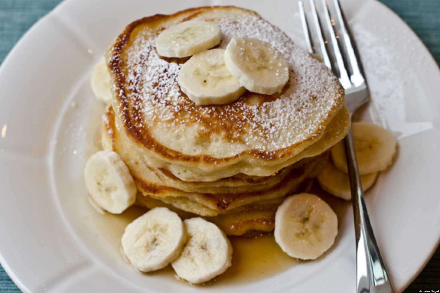 Best Ever Banana Pancakes | Jennifer Segal