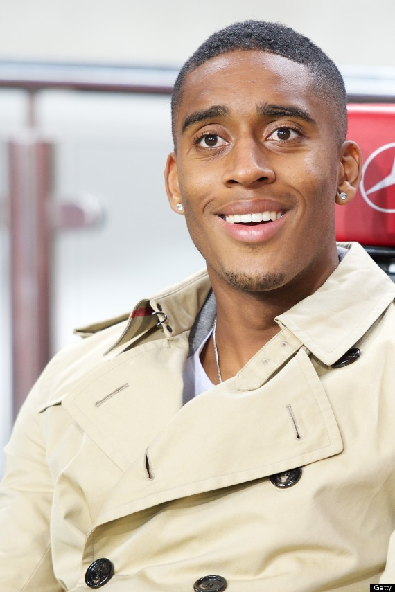 The 27-year old son of father (?) and mother(?), 188 cm tall Leroy Fer in 2017 photo